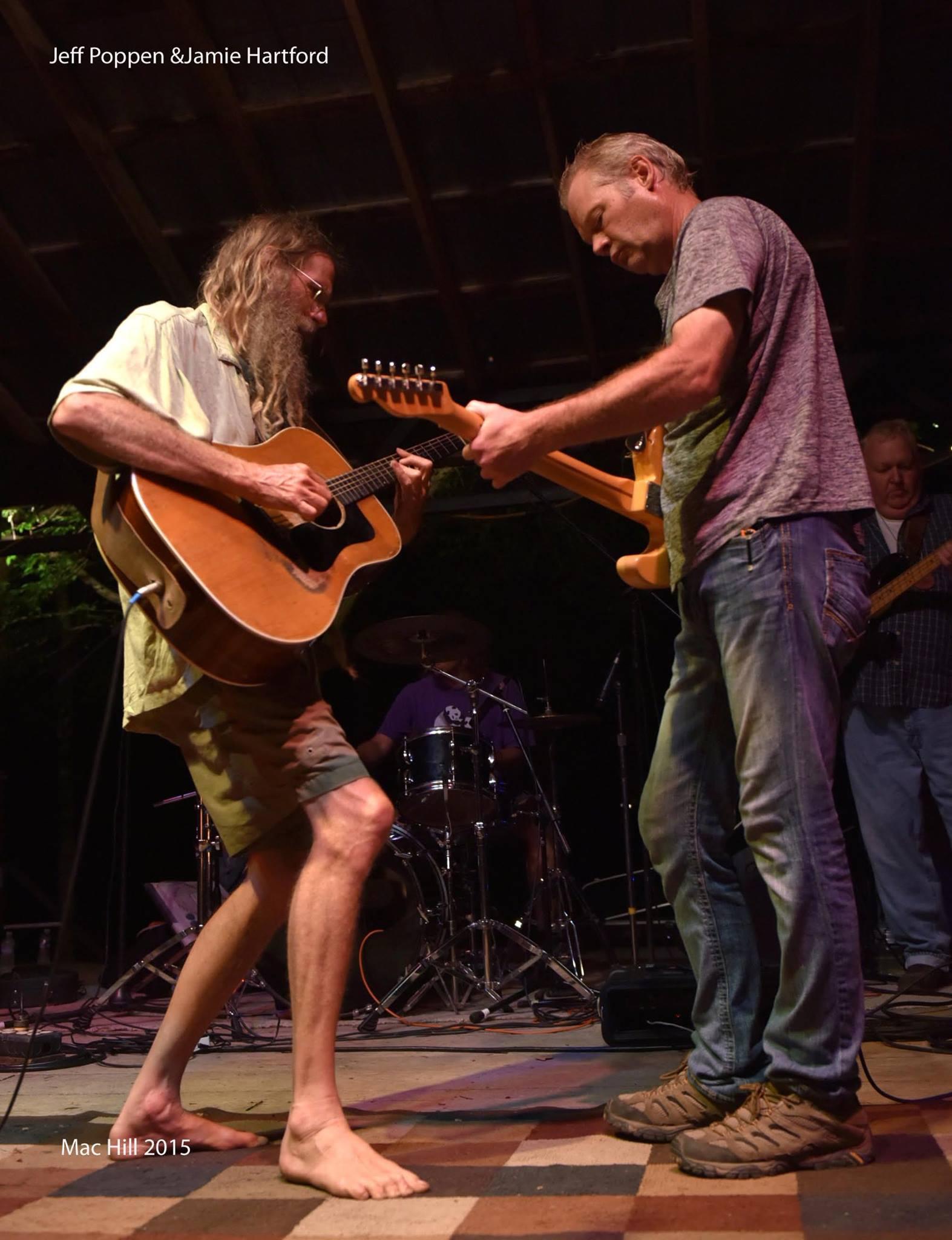 jamie hartford, jeff poppen, barefoot farmer, music, festival