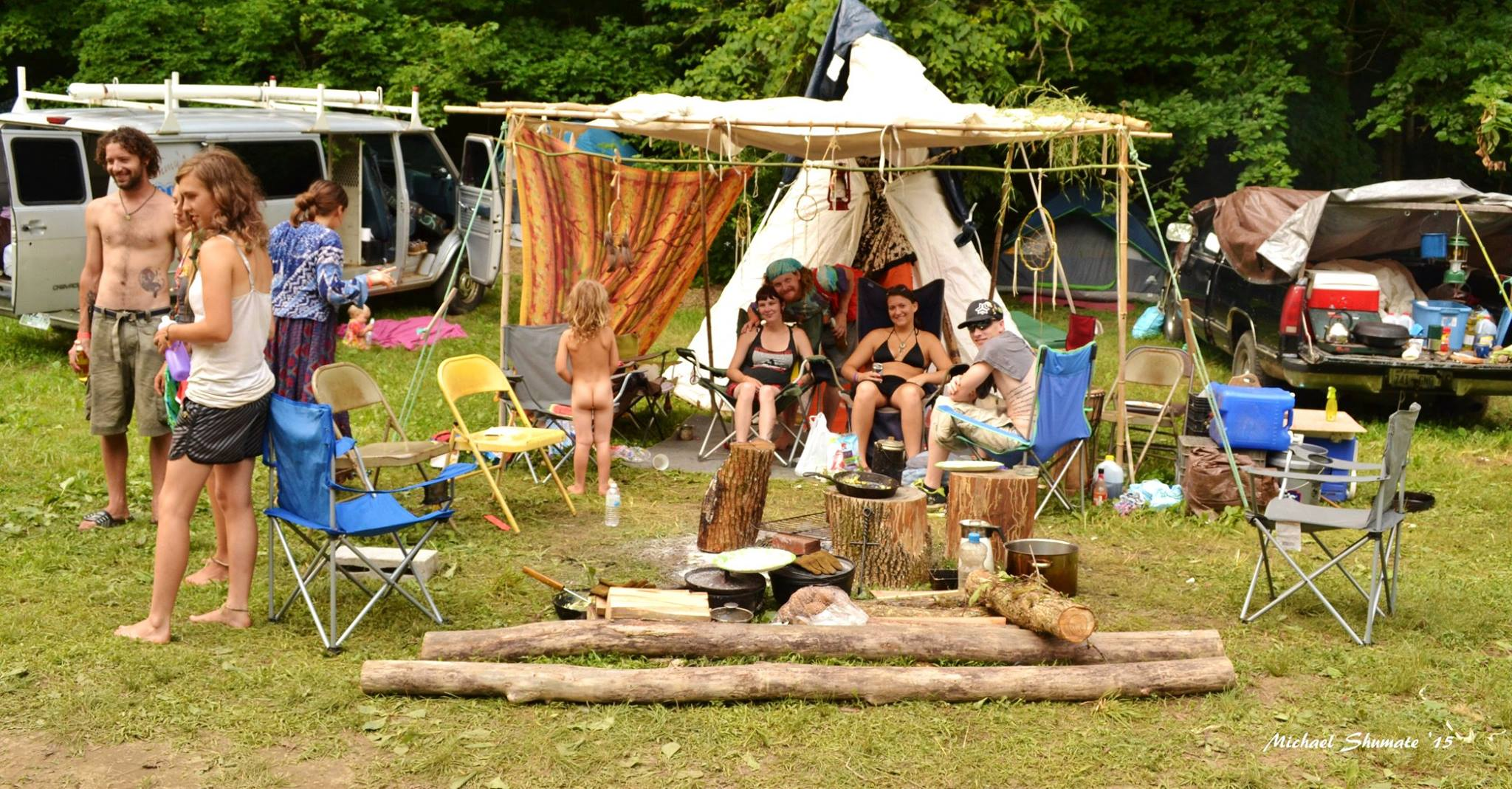 hippies, camping, butt, music festival